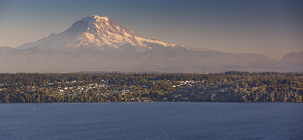 Mount Rainier view from Vashon Island