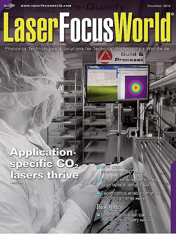 Cover of Laser Focus World Magazine
