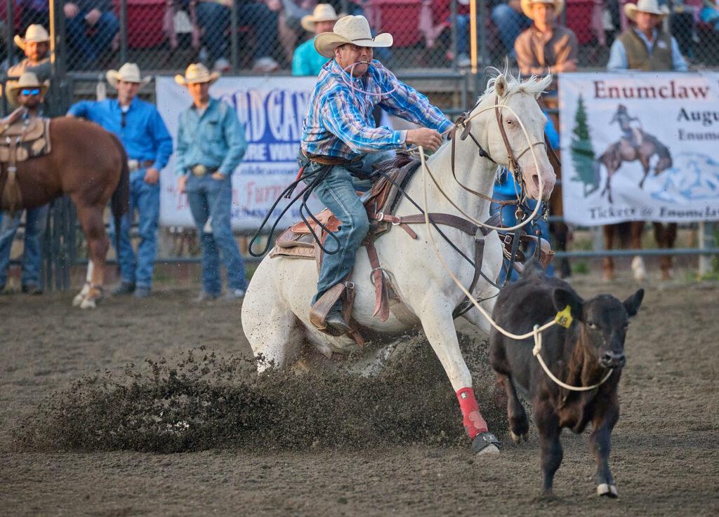 Enumclaw Pro Rodeo Roper